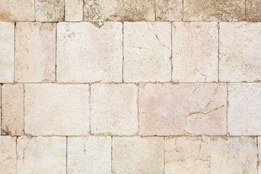 Background of ancient wall
