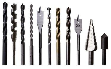 Various Drill Bits for Metal, Wood and Masonry