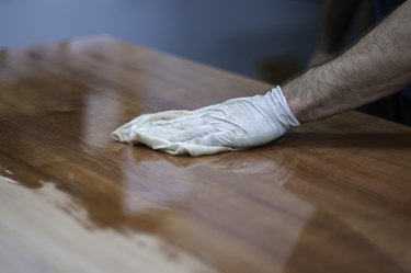 Finishing and French Polishing Wood, Timber, Furniture by Hand