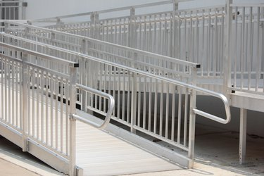 Wheelchair Metal Ramp