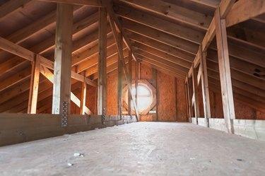 attic wood construction