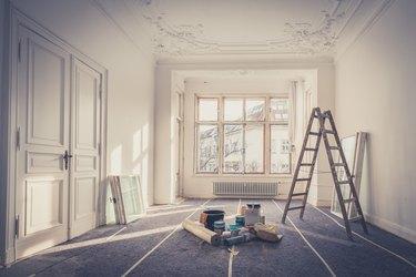 renovation - apartment during  restoration - home improvement