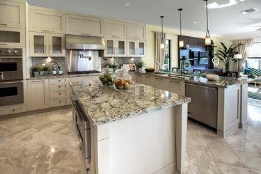 Modern kitchen house interior