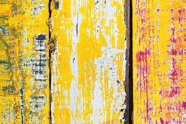 grunge colorful wooden wall background