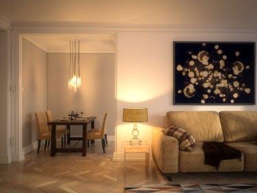 Scandinavian Style Home Interior