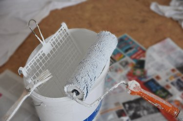 renovation / relocation - painting works