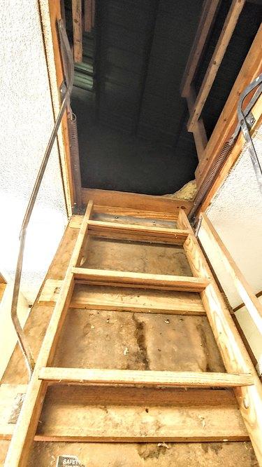 Old attic.