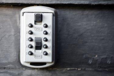 Security Key Lock Box
