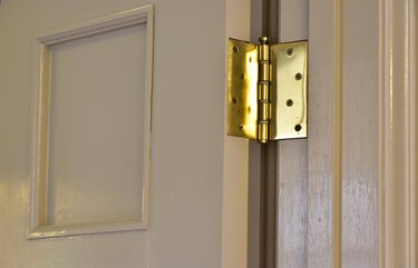 Scene of the door of the room