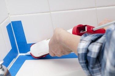 Caulking the Bathroom