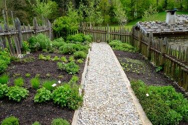 historical herb garden