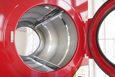 Industrial laundry machine.