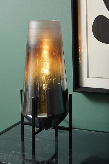 Anthropologie Benjamin Lamp, $148 ambient lighting