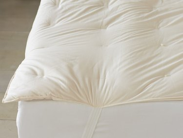 Coyuchi Climate Beneficial Wool Mattress Topper