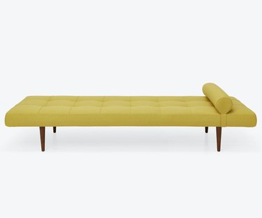 Small Space Daybed Ideas with Yellow twin daybed.