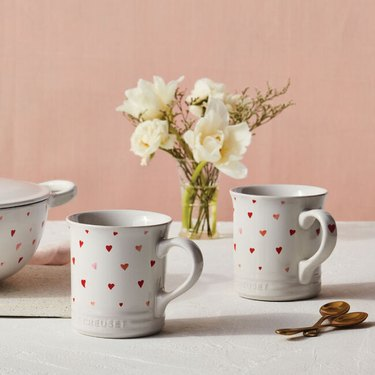 Le Creuset valentine's day collection