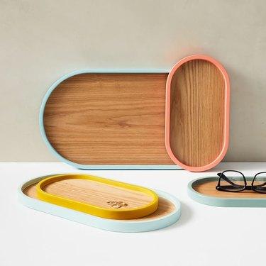 West Elm Color Pop Trays
