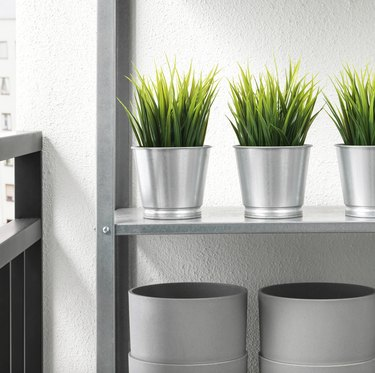 Bintje Galvanized Plant Pot, $0.49