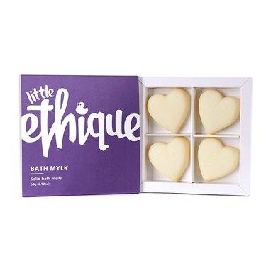 purple box of heart-shaped soap