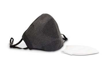 Honeywell Dual-Layer Face Cover with Replaceable Inserts in dark grey