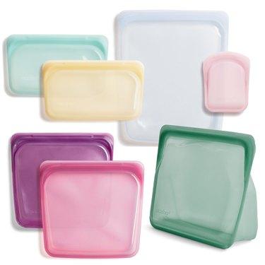 Stasher Reusable Silicone Bag Starter Kit