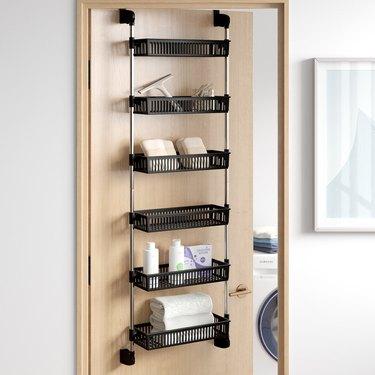Dotted Line Caryl Overdoor 6-Shelf Cabinet Door Organizer