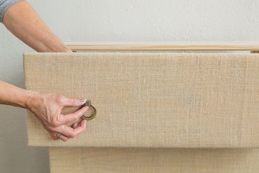 How to add fabric to drawer fronts