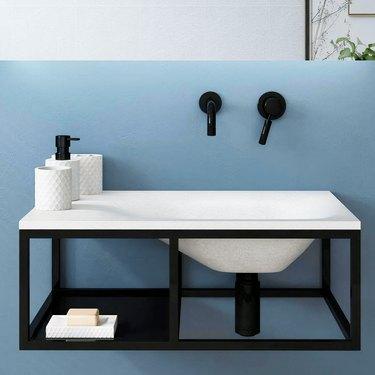 Waterloo Ceramic Bathroom Sink from Magnus Home Products