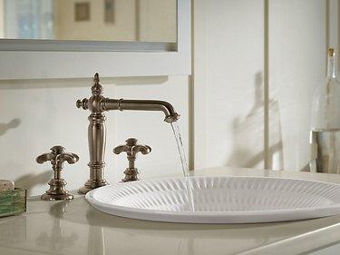 Ceramic Bathroom Sink Derring® Carillon® Round Wading Pool® from Kohler