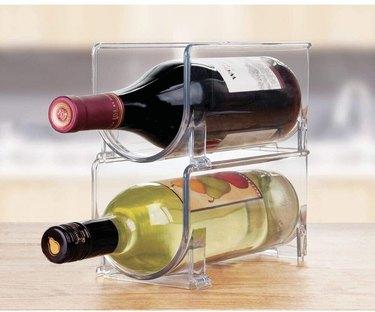 fridge wine bottle organizer