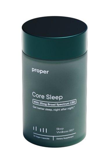 Proper Core Sleep with CBD