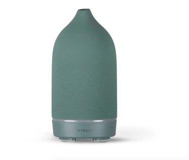 essential oil diffuser in green color