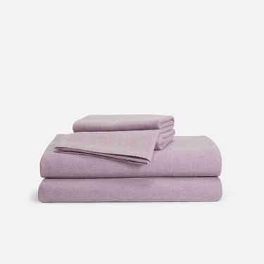 brooklinen heather cashmere