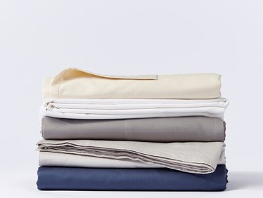 COYUCHI 300 Thread Count Organic Sateen Sheets