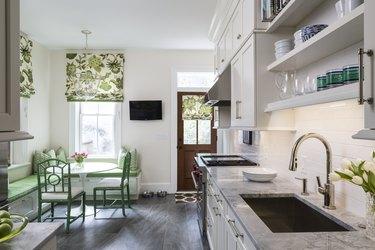 kitchen corner seating ideas