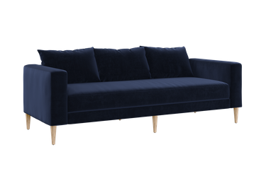 blue modern eco-friendly couch from Sabai Design