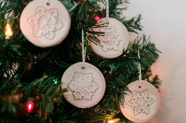 Air-Dry Clay Ornaments