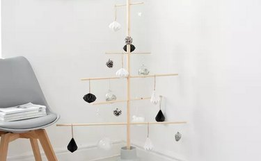 Minimalist Wood Christmas Tree