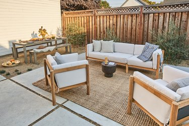San Leandro budget background renovation for eco-friendly patio