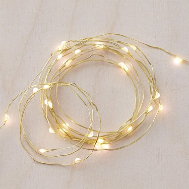 gold twinkle lights