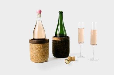 Cork wine cooler