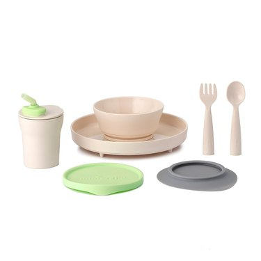 modern eco-friendly dinnerware for toddlers