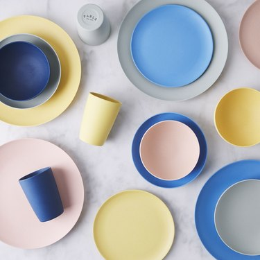 Fable New York colorful, eco-friendly dinnerware