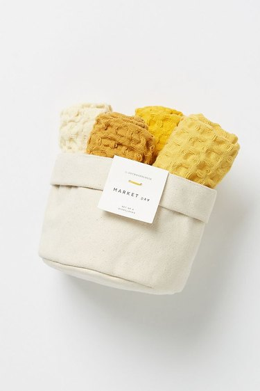Anthropologie Market Dish Towels