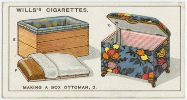 diagram how to make an ottoman