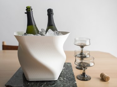 3d printed champagne bucket