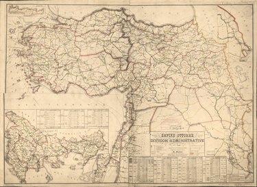 map of Ottoman Empire