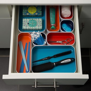 The Container Store Metal Drawer Organizer Starter Kit