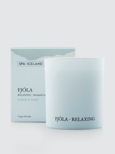Spa of Iceland Fjóla Relaxing Candle, $39