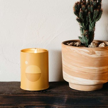 P.F. Candle Co. Golden Hour Sunset Candle, $24